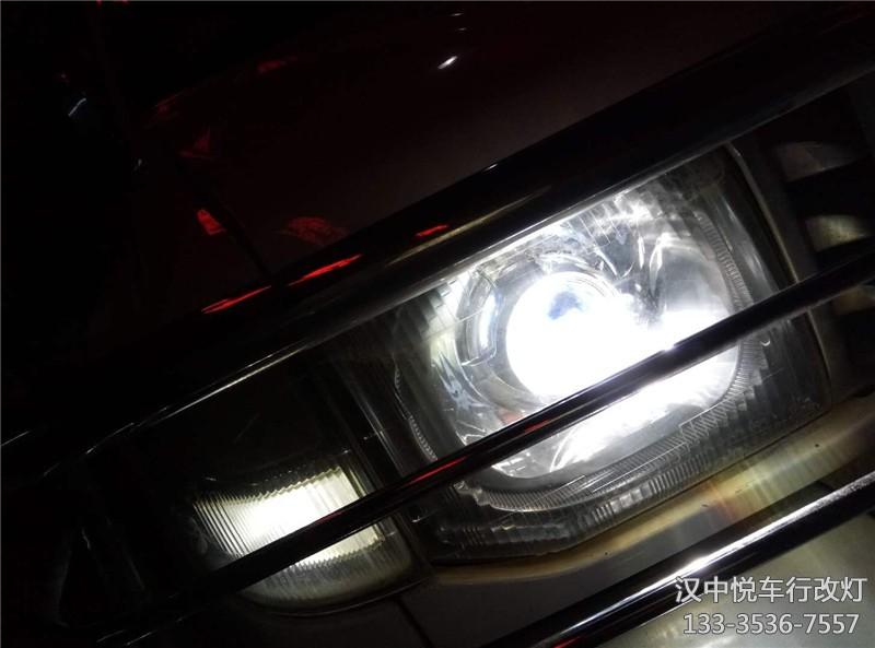 汉中猎豹改装,三菱猎豹改装车灯国产海拉五透镜
