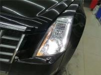 16款本田CRV大灯改装,CRV车灯升级透镜氙气灯,汉中悦车行改装作品