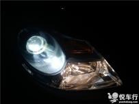 汉中维拉克斯改灯,汉中悦车行2月17日改装进口维拉克斯锐倍德N9双光透镜加装氙气灯