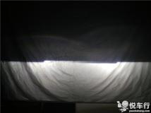 汉中天语改车灯,汉中悦车行改装铃木天语,原车灯改悦车行DJS1500套装,加装天使眼