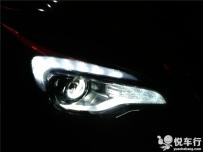 汉中昂科威改灯,汉中悦车行3月7日改装昂科威大灯锐倍德N7透镜欧司朗氙气灯案例