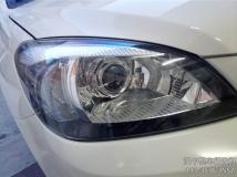 汉中改车灯,长城C30大灯改装锐倍德双光透镜,加装氙气灯