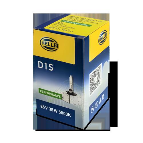 海拉D1S 5000K灯泡