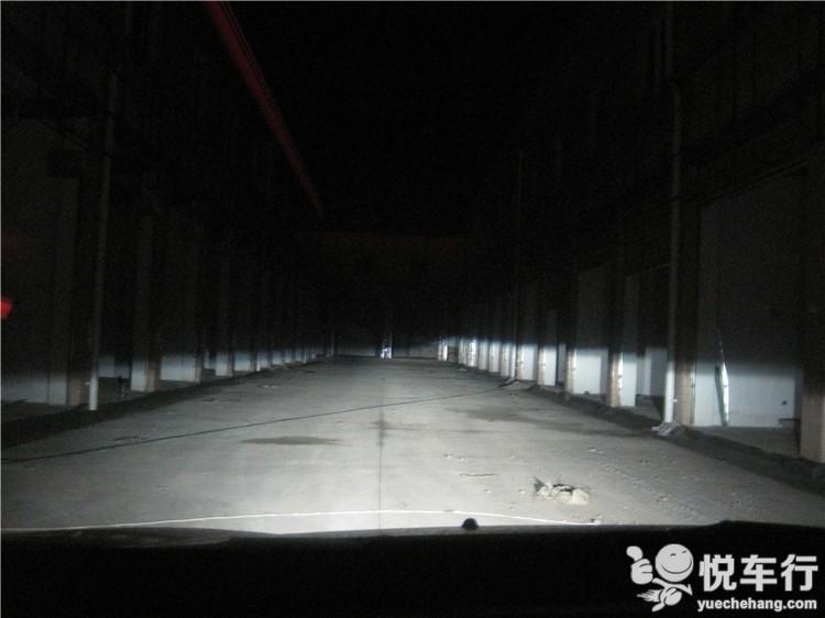 通道内近光效果展示