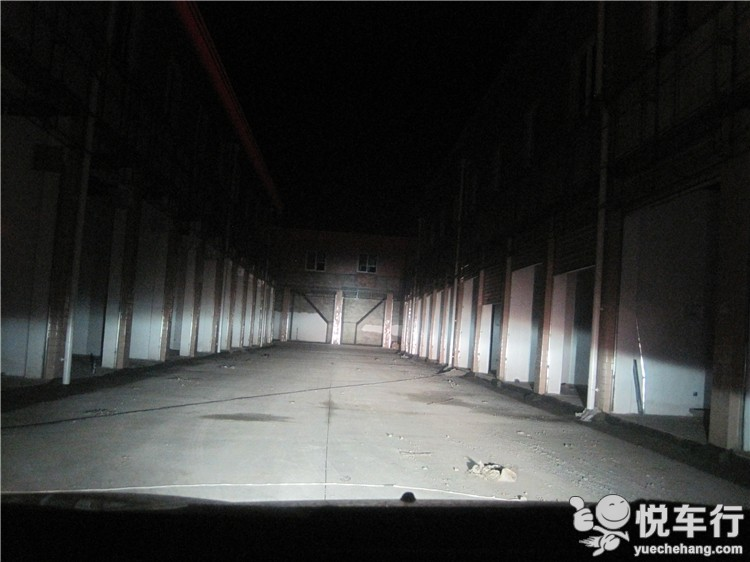 通道内远光效果展示