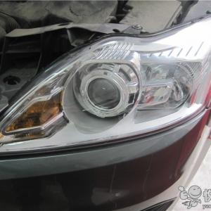 南郑汽车改灯 南郑福克斯改装车灯Q5透镜升级氙气大灯