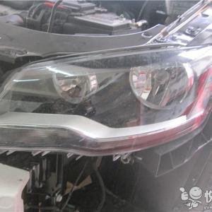 略阳汽车改灯 略阳宝来改装国产Q5透镜升级氙气灯