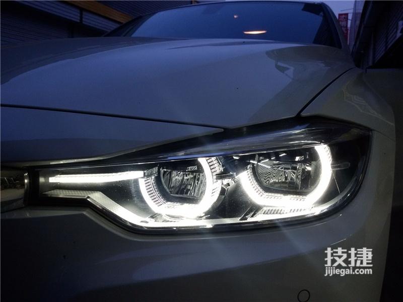 汉中宝马改装,3系宝马升级原厂LED大灯总成