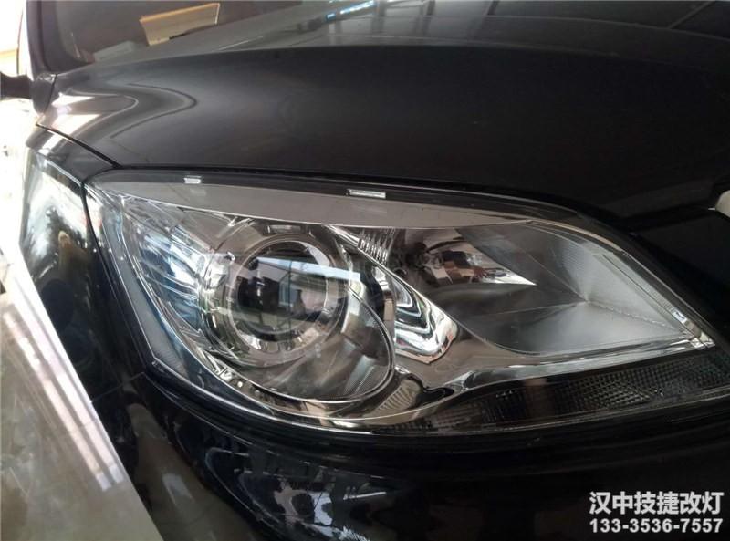 汉中睿骋车灯升级,睿骋大灯升级Q5透镜,氙气灯光源