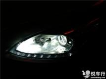 汉中改灯,汉中标致3008大灯改装,1月10日3008大灯升级DJS2000套装加装欧司朗氙气灯