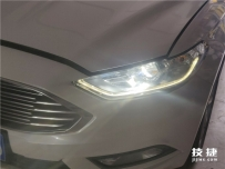 汉中途观改装汽车大灯