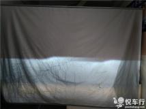 汉中KX3改车灯,汉中悦车行1月23日改装起亚KX3大灯,原车灯改Q5透镜加装氙气灯天使眼
