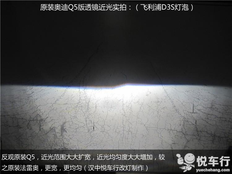 原装Q5透镜远光