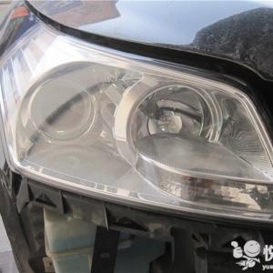 镇巴汽车灯光升级 镇巴奔腾B70升级车灯灯光Q5透镜加装氙气灯 ...