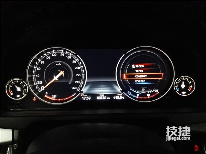 汉中宝马X6改装全液晶仪表,原车标配仪表升级全液晶仪表盘