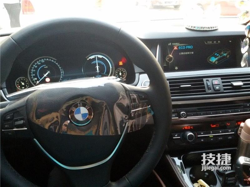 汉中宝马5系改装,原车标配仪表升级全液晶仪表