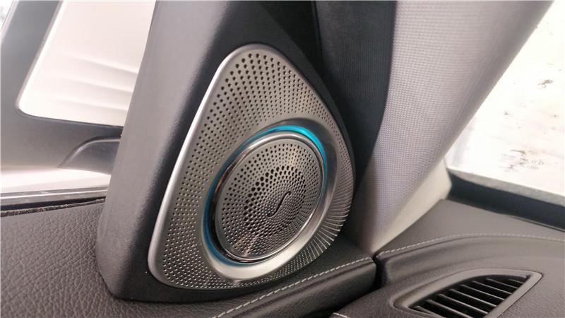 汉中奔驰C200L改装柏林之声旋转高音